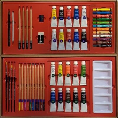 Set De Arte En Caja X 50 Piezas