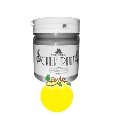 Pintura A La Tiza Acuarel X 200 Cc Amarillo Fluo