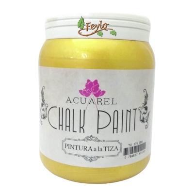Pintura A La Tiza Acuarel Oro X 1000 Cc