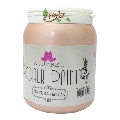 Pintura A La Tiza Acuarel Oro Rosa X 1000 Cc