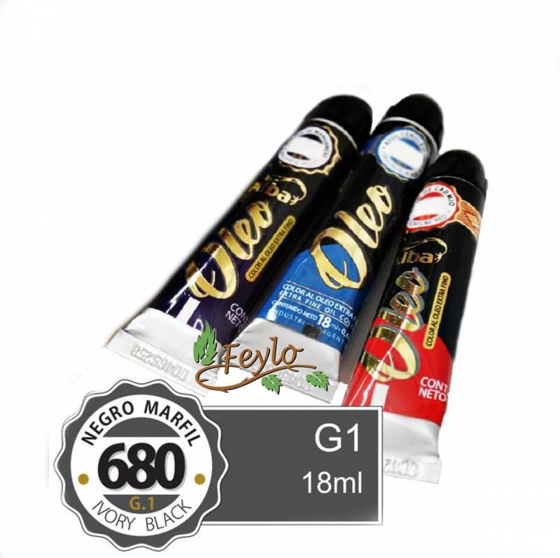 Oleo Alba G1 X 18 Ml Negro Marfil *