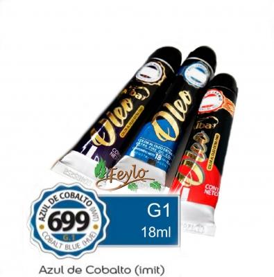 Oleo Alba G1 X 18 Ml Azul De Cobalto (imit)