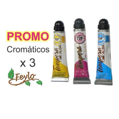 Promo Tempera Prof. Cromatico X 3 Unid.