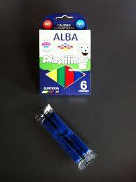 Plastilina Alba X 6 Barras Col/surtidos