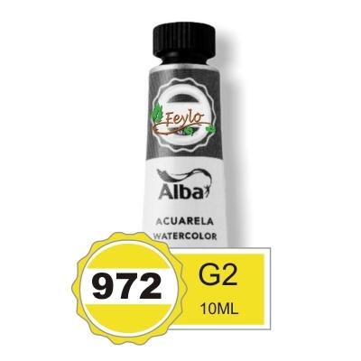 Acuarela Alba Profesional G2 X 10cc Amarillo Limon