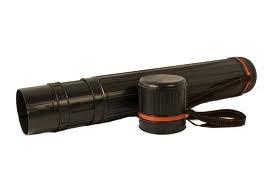 Tubo Plastico 10,5 Cm Diametro Negro - Expandible Hasta 135 Cm