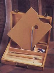 Caja Para Pintor C/paleta 39 X 30 X 7,1 Cm