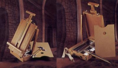 Caja Con Atril 50 X 30 X 9.7 Cm - Para Canvas Hasta 74 Cm
