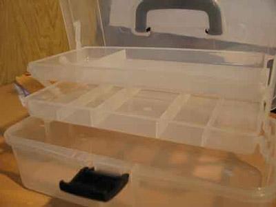 Caja Plastica Multiuso 33 X 26,5 X 26,5 Cm