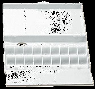 Mezcladora Plastica Con Tapa 25 X 12 X 2,5 Cm