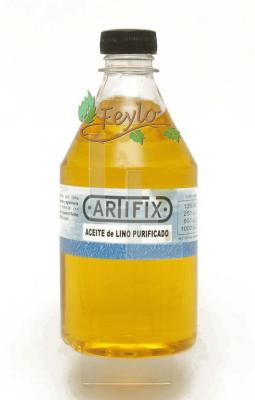 Aceite De Lino Purificado Artifix  X 1000 Cc