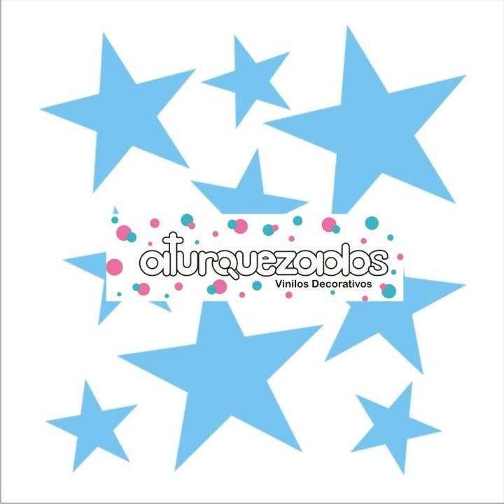 Vinilico Estrellas Celestes