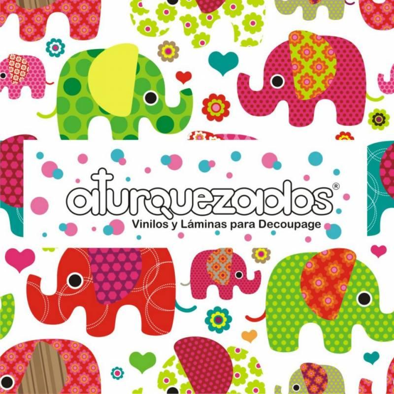 Laminas A4 Aturquezados Elefantitos-002
