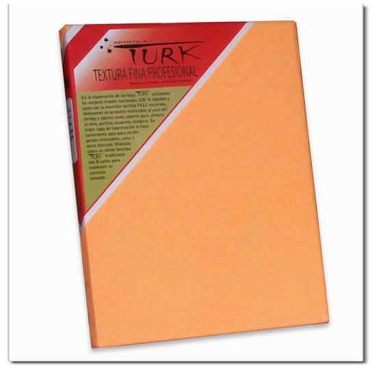 Bastidor Turk  Naranja Fluo  30x30