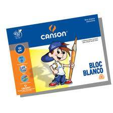Block Cansonino Blanco N°5 120 Grs X 20 Hs
