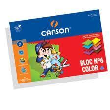 Block De Dibujo Color Nº6 X 120 Grs X 20 Hs