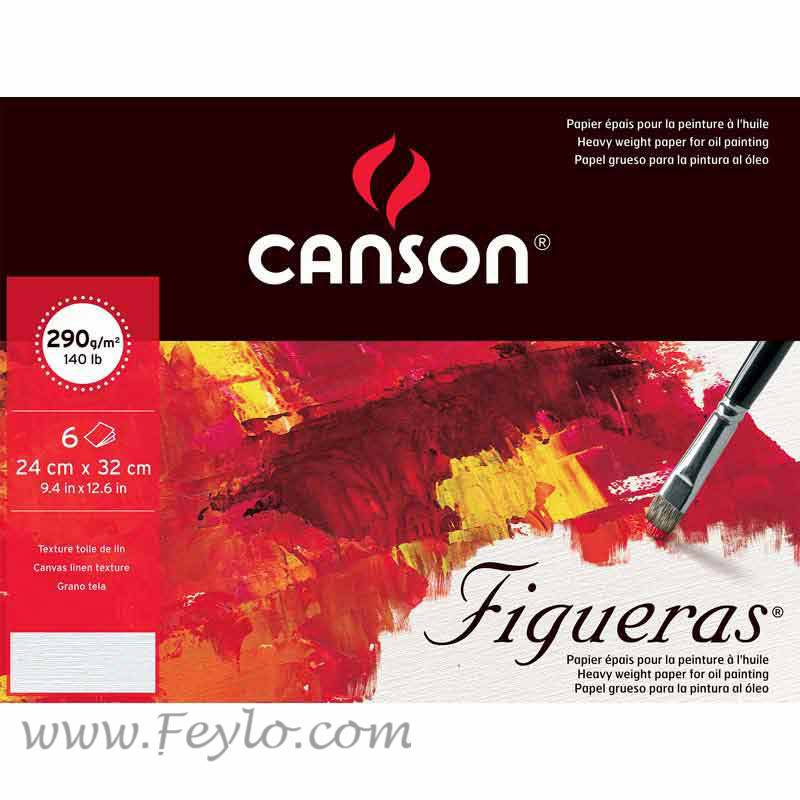 Block Figueras 24x32 290 Grs X 10hjs