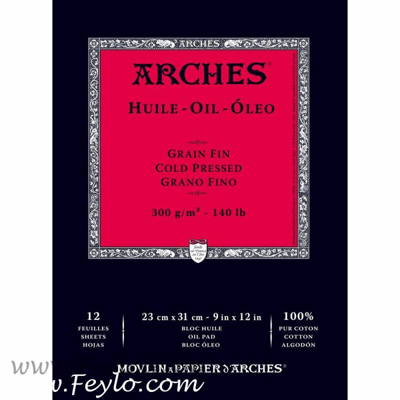 Block Arches 23x31 300 Grs X 12 Hs