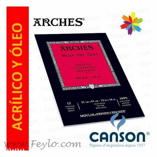 Block Arches 31x41 300 Grs X 12 Hs