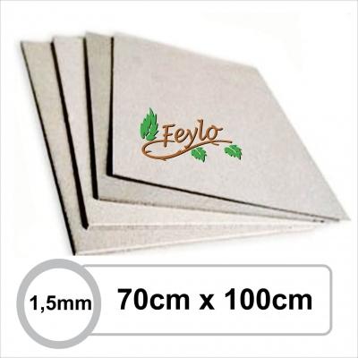Carton Gris 1,5mm 70 X 1