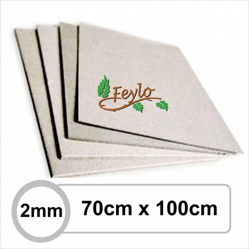 Carton Gris 2mm 70 X 1