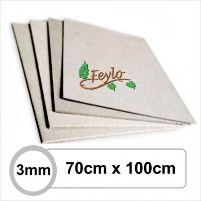 Carton Gris 3mm 70 X 1