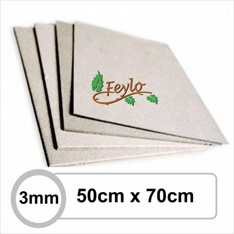Carton Gris 3mm 50 X 70