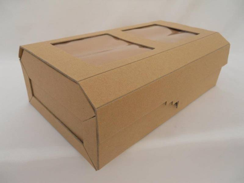 Caja Carton Baul C/ Portarretrato Color 28.5x16.5x9.7