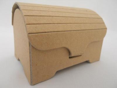 Caja Carton Cofre Morgan 7x5x7