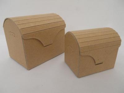Caja Carton Cofre Grande 9.5x7x8.5