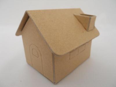 Caja Carton Casita 7x5x7