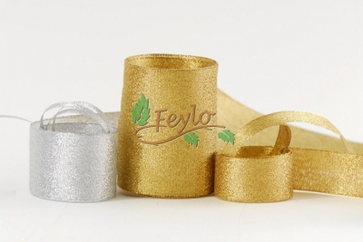 Lurex Oro 25mm X 10 Mts