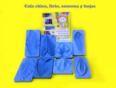 Moldes Frisadores Cala Chica-azucena-lirio-hoja Cala
