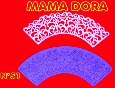 Moldes De Caucho Cupcakes M. Dora Nº51