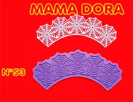 Moldes De Caucho Cupcakes M. Dora Nº53