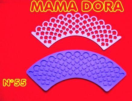 Moldes De Caucho Cupcakes M. Dora Nº55