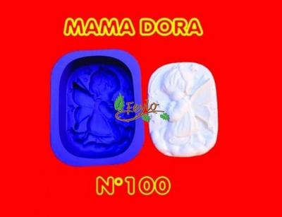 Molde De Caucho Angelito Nena M. Dora Nº100