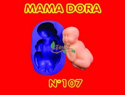 Moldes De Caucho Bebe M. Dora Nº107