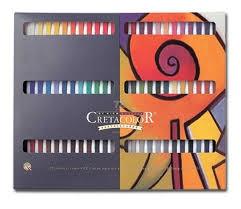 Set T.pastel Carre X72 Colores (caja)