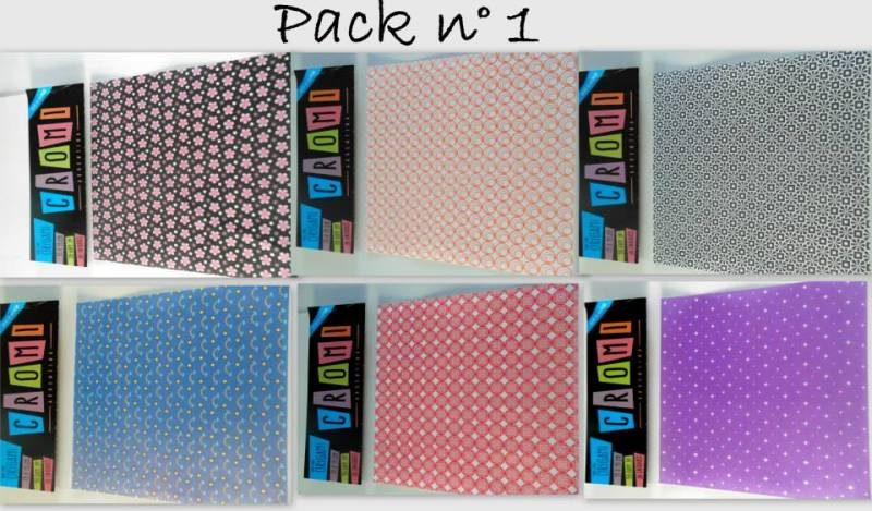Papel Para Origami 56 Grs 15x15cm X 36 Unid Pack 1