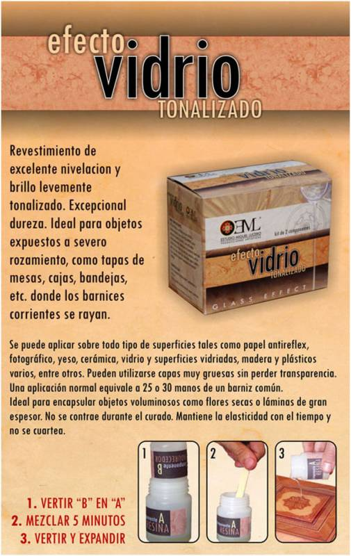 Efecto Vidrio Eml X 50 Cc