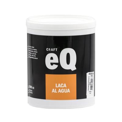 Laca Al Agua Eq Incolora O De Color X 1lt