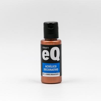 Acrilicos Decorativos Met.  Eq X 50 Cc G2 Cobre Iridiscente