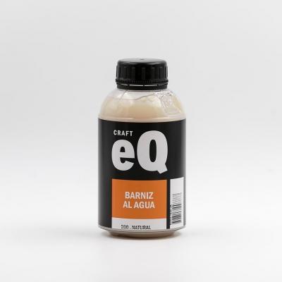 Barniz Al Agua Eq   X 375cc  Natural Transparente