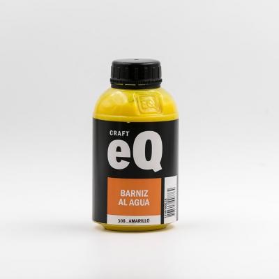 Barniz Al Agua Eq   X 375cc  Amarillo