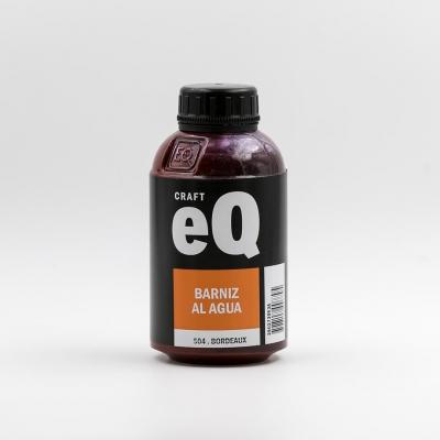 Barniz Al Agua Eq   X 375cc  Bordeaux