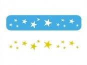 Stencil Eq Chico 4.5 X 30 Cm 203 - Estrellas