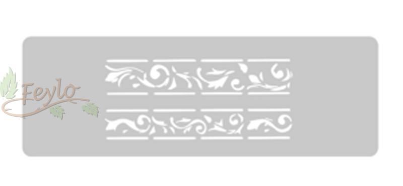 Stencil Eq Grande 13.5 X 30 Cm 12 - Fileteado Guarda
