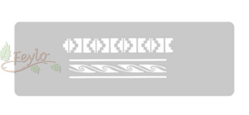 Stencil Eq Grande 13.5 X 30 Cm 25 - Incaico