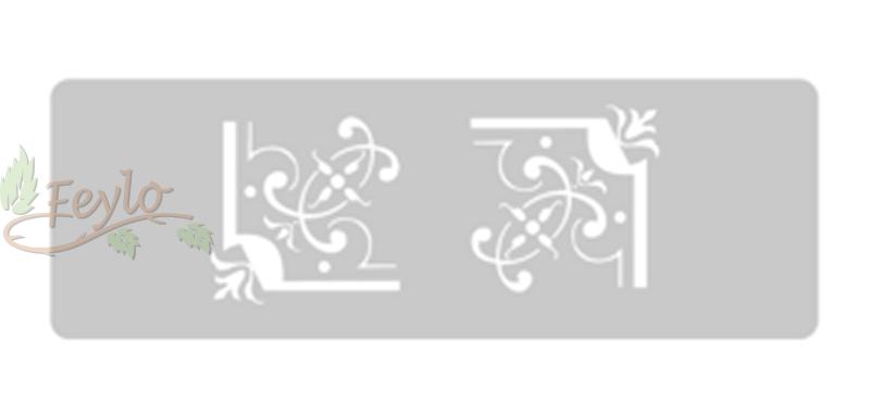 Stencil Eq Grande 13.5 X 30 Cm 40 - Esquineros